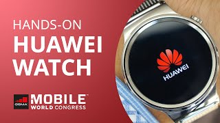 Huawei Watch: o relógio inteligente, bonito e elegante da chinesa [Hands-on | MWC 2015]