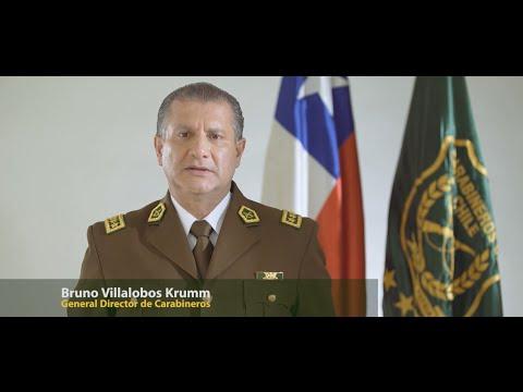 Saludo del General Director de Carabineros Bruno ...