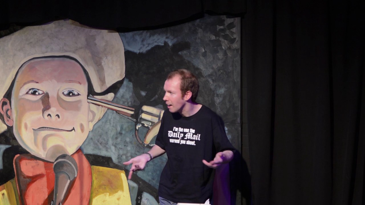 Lost Voice Guy at The Stand Comedy Club, Newcastle - 24 ...