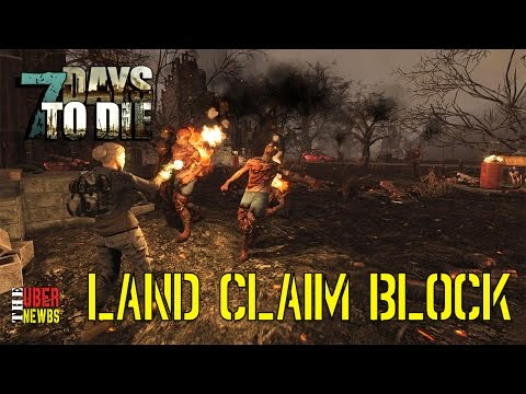 7 Days to Die Land Claim Block