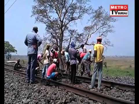 Locals Prevented A Major Train Accident In Balasore, As They Halted The Bangiriposi-Bhubaneswar EXP