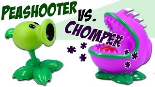 Plants vs. Zombies Peashooter Popper vs. Chomper Popper