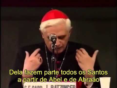 Cardeal Joseph Ratzinger, em 01/09/1990, sobre a Igreja!!!