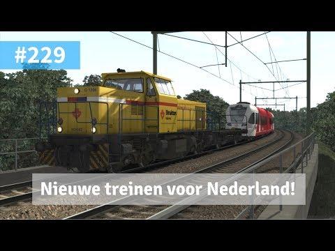 Train Simulator 2017 #229 - 6400 Stadler GTW's naar Nederland brengen!