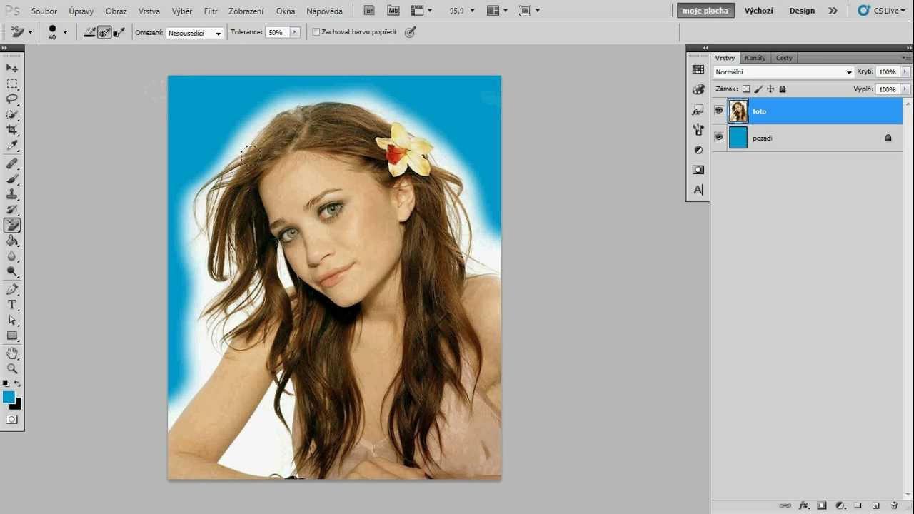 Obrázek bez pozadí photoshop
