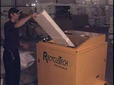 Styrofoam Recycling Equipment By RecycleTech Corp.