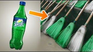 DIY Broomstick From Plastic Bottles | Recycling Soda Bottles