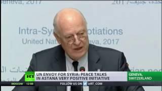 Rhetoric or resolution? New round of talks on Syria to kick off in Geneva