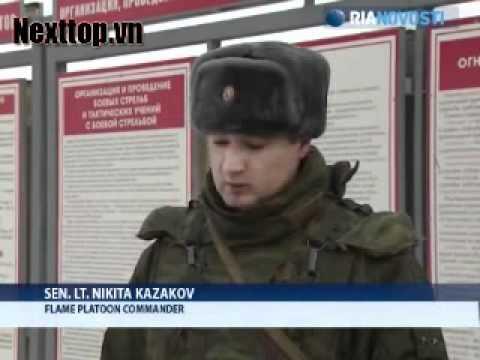 Kinh hoàng sức sát thương súng phun lửa Nga [Nexttop.vn].flv