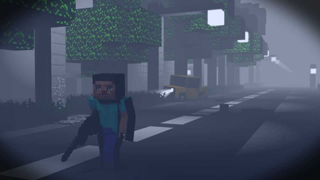 Zombie Apocalypse - Minecraft Animation - YouTube