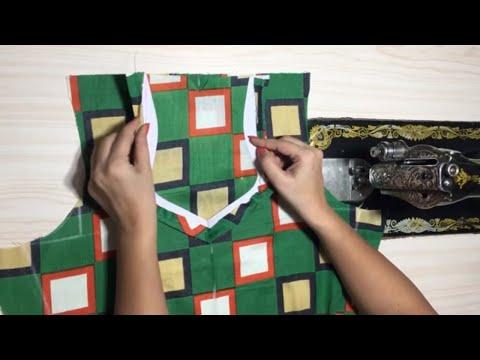 Simple Kameez stitching #2 - The Basic