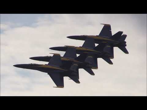 2016 NAS Oceana Airshow - US Navy Blue Angels (Aerial Performance)