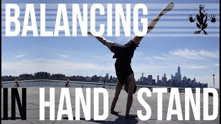 30 mins - Learning how to balance in handstand (Follow along) by Jon Witt