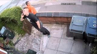 HD-D113 CCTV Camera Sample Day Video Footage- Erdington Thief Series