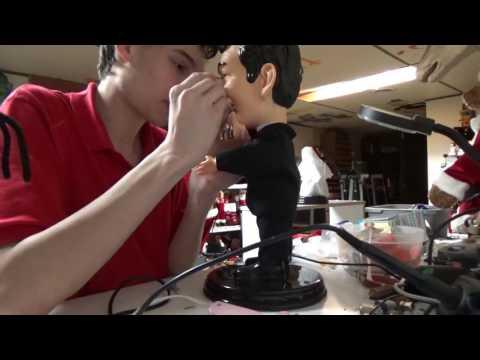 Gemmy Animatronic Repairs: Pop Culture Series Dean Martin (PART 1)