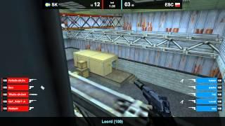 SK vs. ESC @ nuke map 1