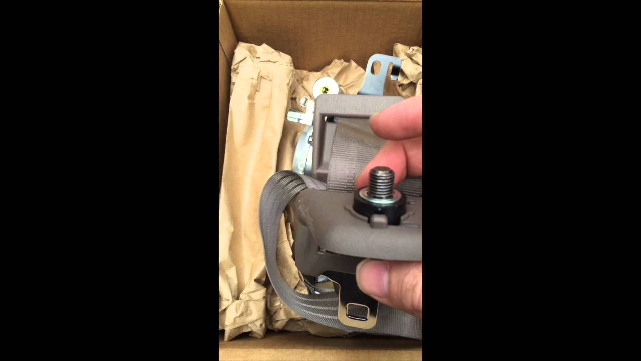 hight resolution of 1998 toyota tacoma driver side seat belt replacement