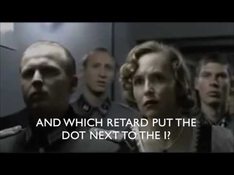Hitler reacts to the new imec logo.
