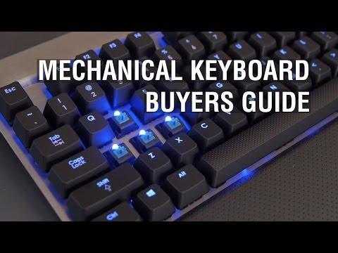 Mechanical Keyboard Buyers Guide: Cherry MX Red, Brown, Blue, Green & Buckling Springs