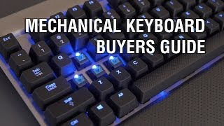 Mechanical Keyboard Buyers Guide: Cherry MX Red, Brown, Blue, Green & Buckling Springs