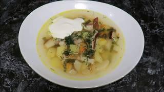 🍲🍴🍲 грибной суп 🍲простой рецепт 🍲🍴🍲  мегалиты в лесу🍲🍴🍲 нашествие мухоморов