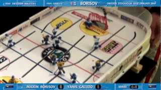 Настольный хоккей-Table hockey-SM-2012-final-BORISOV-GALUZO-Game6-comment-TITOV
