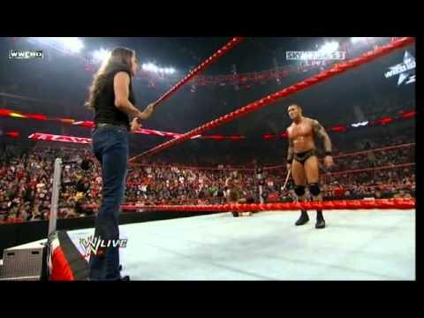 Randy Orton And Stephanie Mcmahon Triple H vs. Randy Ort...