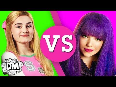 Descendants VS Z-O-M-B-I-E-S! Disney Channel Showdown | Dream Mining