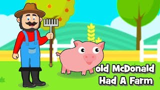 Old Mac Donald had a farm Nursery Rhymes kids cartoon & songs for children: Now in Android App.