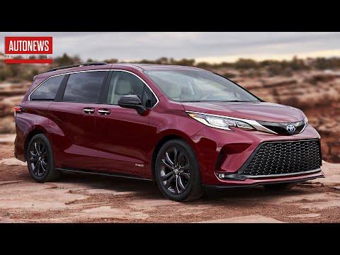 Новая Toyota Sienna (2021): минивэн на все случаи жизни!
