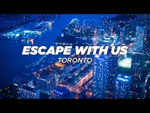 ESCAPE WITH US | TRAVEL TO TORONTO (4K)
