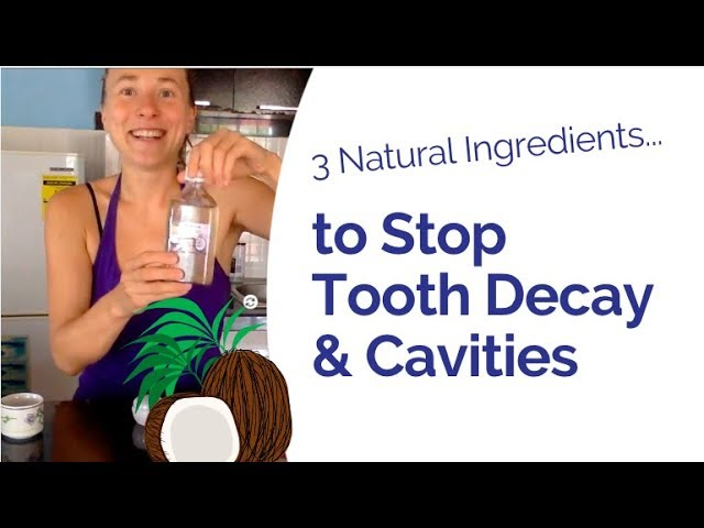 Best Toothpaste for Sensitive Teeth & Against Cavities - Homemade with Only 3 Ingredients