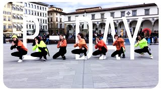 [K-POP IN PUBLIC - ITALY] iKON - B-DAY DANCE COVER ~ [SUNSET 썬셋 CREW]