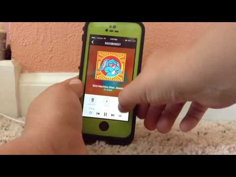 How to bass boost songs on an iPhone - YouTube