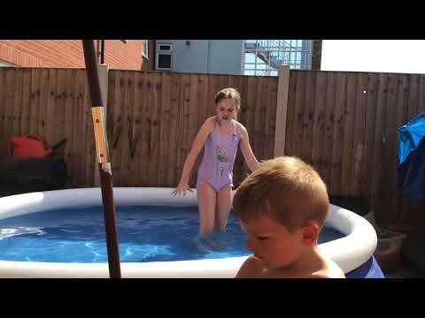 Swimming pool challenge