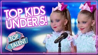 KID'S GOT TALENT | UNDER 5 Audition Including DJ Arch, Heavenly Joy & The Henry Twins | Top Talent thumbnail