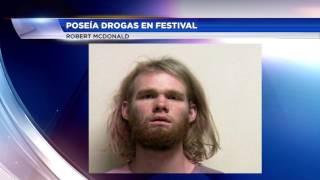 Poseía Drogas En Festival En Condado De Utah