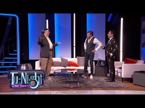 PONEMOS A EUGENIO DERBEZ en situaciones INCÓMODAS - SAMMY le reclama   Tu-Night con Omar Chaparro