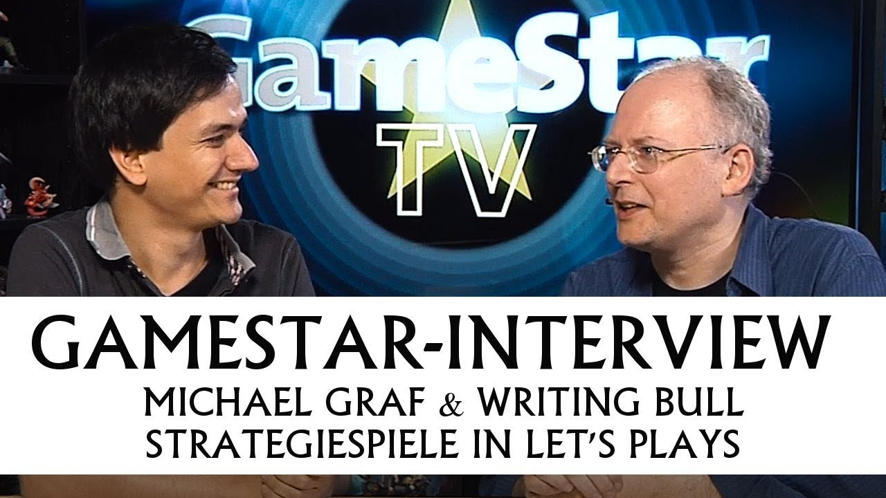 Writing Bull bei GameStar TV: Strategiespiele im Let's Play