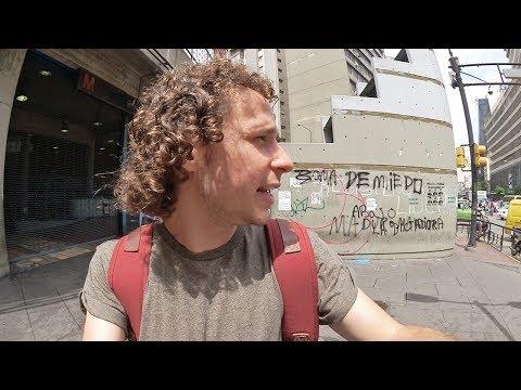 Caminando Por Las Calles De Venezuela   NO HAY PAN