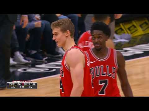 Lauri Markkanen Full Highlights vs Hornets Nov 17, 17/18 - 16 pts 3ast 7rebs CLUTCH!