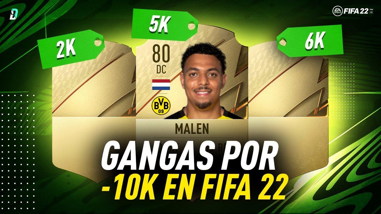 10 CARTAZAS POR MENOS DE 10K EN FIFA 22
