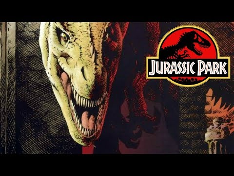 The Return of Alan Grant and Ellie Sattler - Jurassic Park: Redemption Comics - Part 4