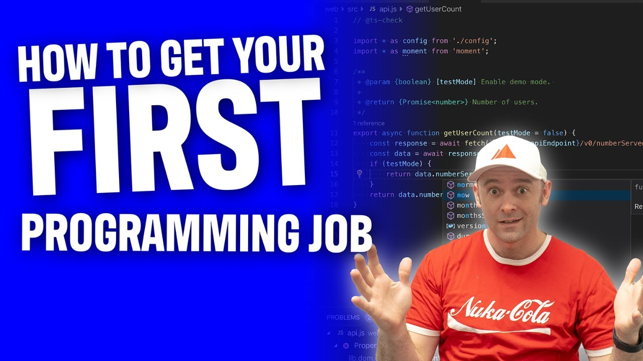 Secrets To Landing Your First Programming Job With No Experience in 2021