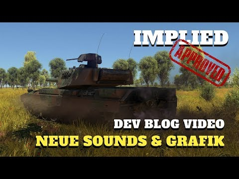 War Thunder - DEV BLOG - Neue Grafik & Sounds mit Patch 1.77 - Info Video