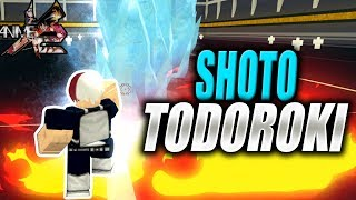 Shoto Todoroki   MUI Goku kaputt! Anime Cross 2 in Roblox   iBeMaine