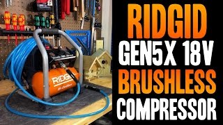 RIDGID Gen5X 18v Brushless Cordless Air Compressor R0230