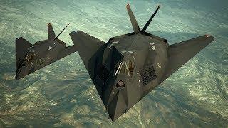 Эпичный Полет на F-117 Стелс ! Самолет Невидимка в Игре HAWX