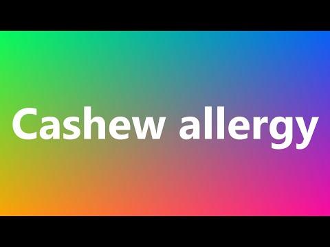 cashew-allergy---medical-definition