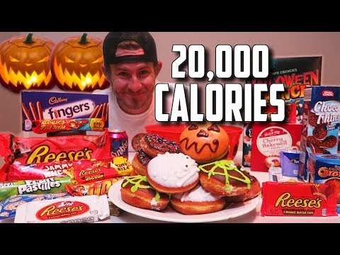THE TRICK OR CHEAT CHALLENGE (20,000+ CALORIES)
